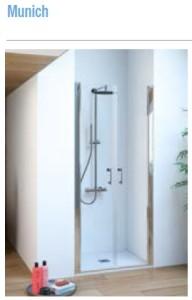Mampara de baño Salgar Serie Munich