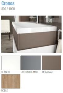 Muebles de baño Salgar Serie 45 Cronos