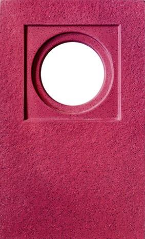 Platos de ducha Bedyfa - Carga mineral sílex - Rojo chips