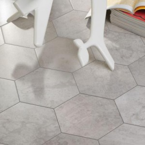 Cerámica Codicer 95 - Hexagonal Serie Concrete Hex 25